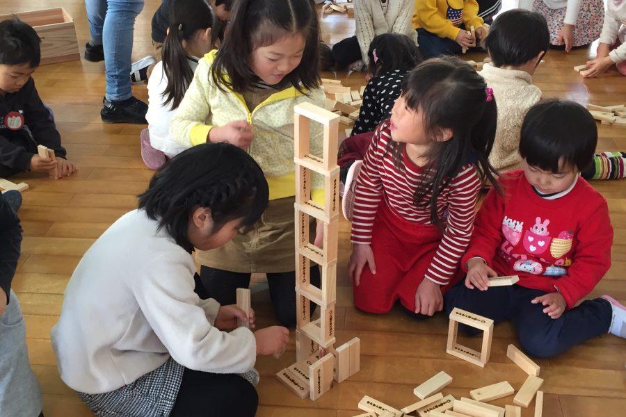 木育〜大工さんの手づくり、奈良の木のつみ木を子どもたちへ part.5〜
