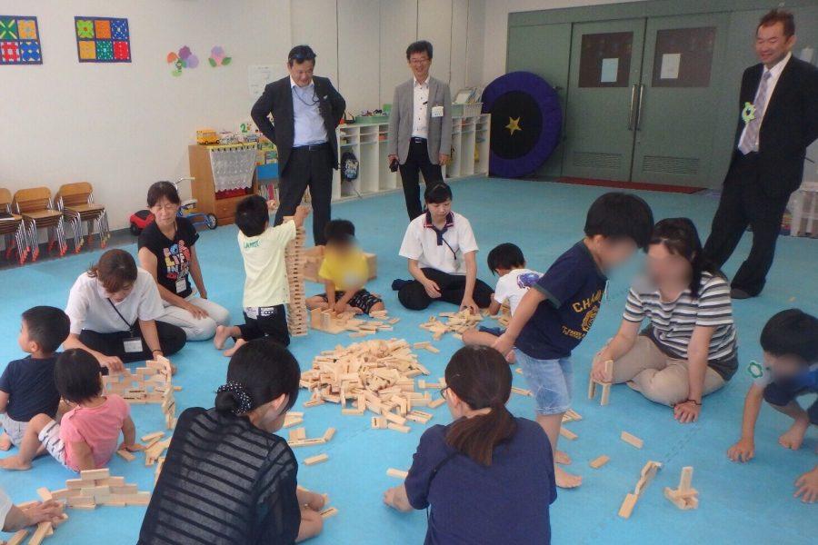 木育~大工さんの手づくり、奈良の木のつみ木を子どもたちへ part.7~